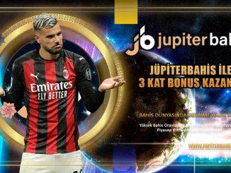 Jüpiterbahis ile 3 Kat Bonus Kazanın